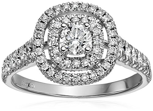 Diamond Halo Ring - 7