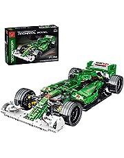 LesDiy Technik Sportwagen klembouwstenen, bouwset, 1/14 techniek, formule 1 modelbouwset voor F1.R5 compatibel met Lego-technologie - 1100 onderdelen