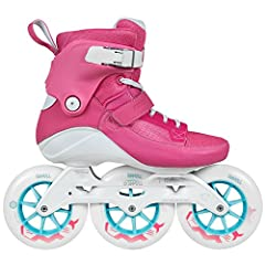 The Powerslide SWELL is a revolutionary inline skate specially designed for intense fitness training. The Powerslide Swell Flamingo 125 features a reworked shell with flex cuts in the ankle area and RECALL fit with memory foam to provide supe...