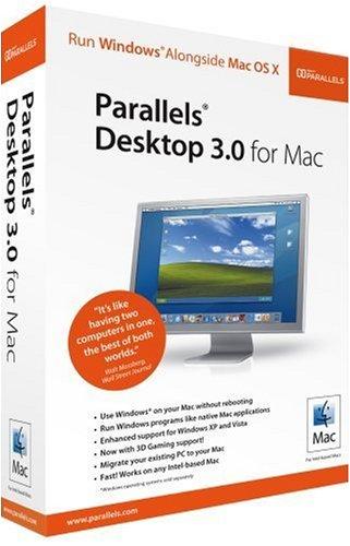 Parallels Desktop 3.0 for Mac – Old Version