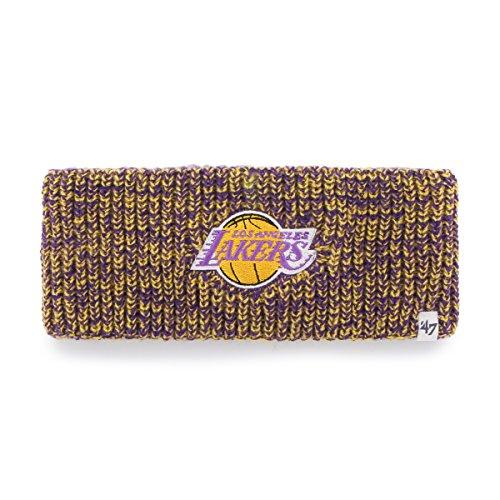 NBA Los Angeles Lakers Women's '47 Prima Twisted Headband, Purple