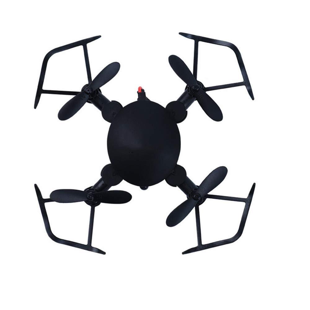 noir  ZHEL Drone et caméra, Photographie HD 200w, Mini Drone pour débutant Gyroscope à 4 Axes avec télécomhommede sans Fil pour Enfants