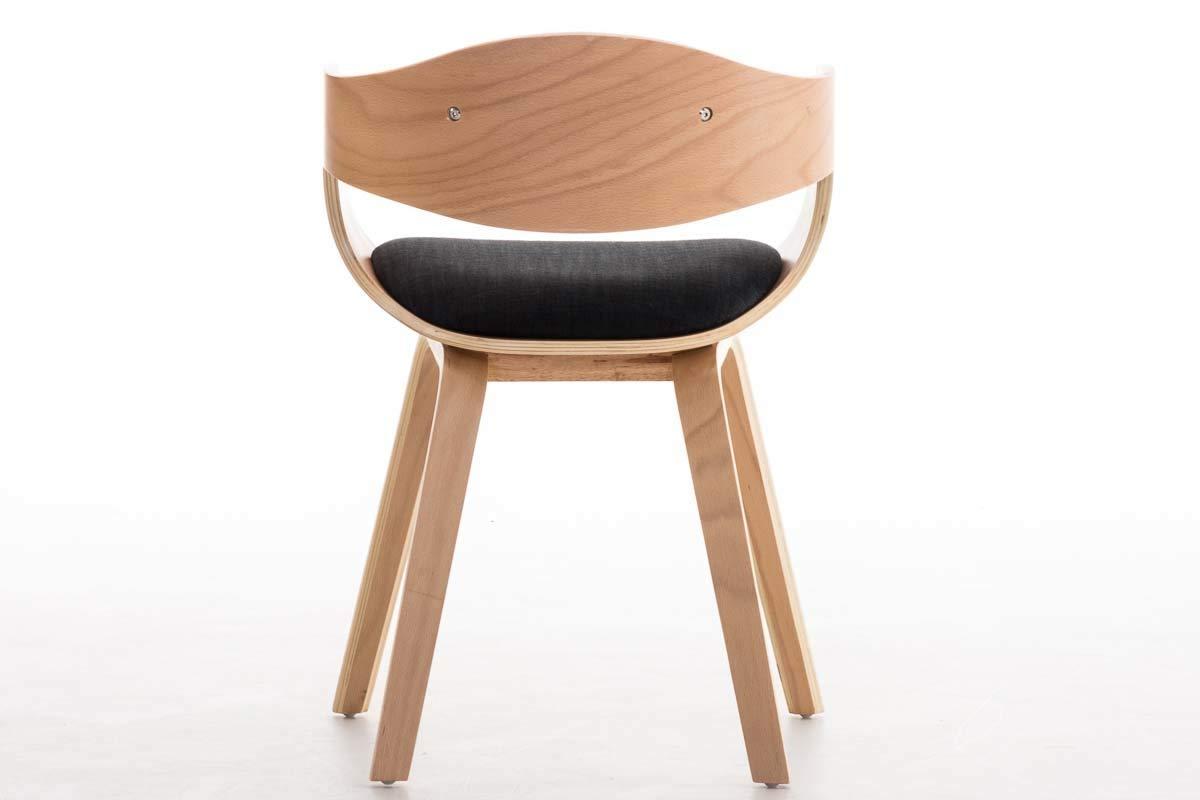 Sedie In Legno Con Braccioli : Clp sedia visitatore kingston in tessuto sedia rétro con