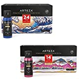 Arteza Fabric Paint Bundle, Painting Art Supplies