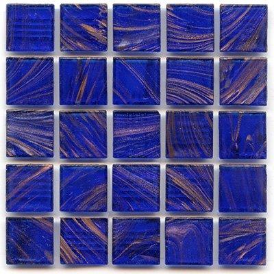 """3/4"""" Mosaic Tile - P 42 Cobalt - 1 lb Bag Hakatai Brand Glass Tile"""