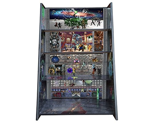 Marvel Play and Display Shelves depicting heroes and villains from all the Marvel comics and movies. by PlayandDisplays