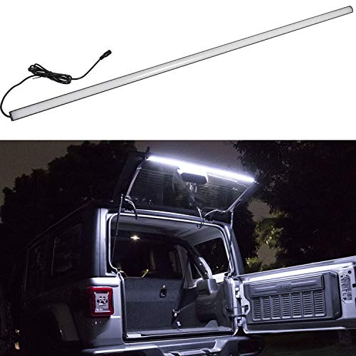 Danti Fit For Jeep Wrangler 2018 2019 JL JLU LED Tailgate Windshield Rear Glass Lift Gate Dome Light Bar