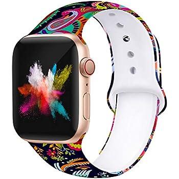 Amazon.com: EXCHAR - Correa de repuesto para reloj Apple de ...