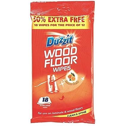 48 Wood Floor Wipes Jumbo//2 packs of 24