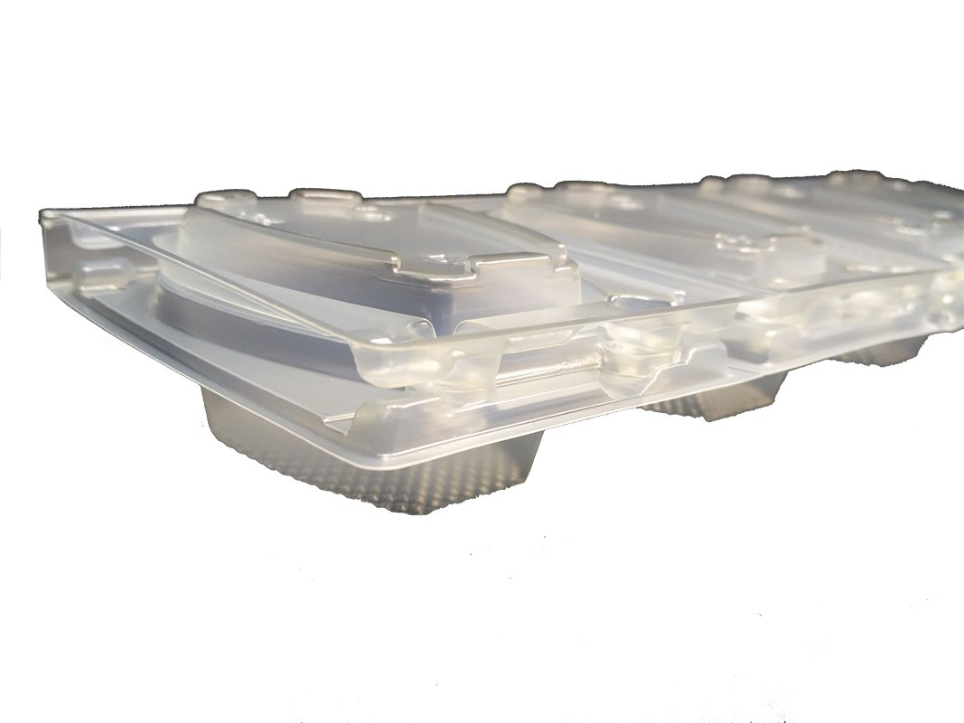 TRIANGULAR PARA 1 SANDWICH para sandwiches Pack de 880 recipientes desechables con tapa