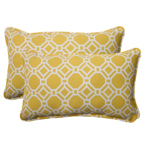 Pillow Perfect Indoor/Outdoor Rossmere Corded Rectangular Th