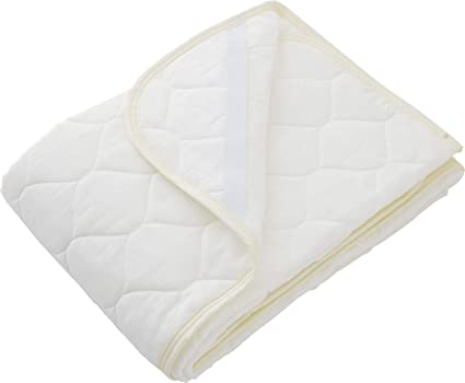 Amazon.com: EMOOR Gauze Quilted Fitted Pad for Futon/Bed Mattress