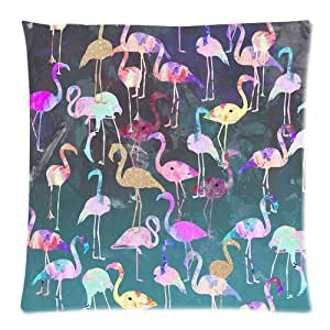 After Dark Flamingo Party Pillow Case 20x30 (two sides)