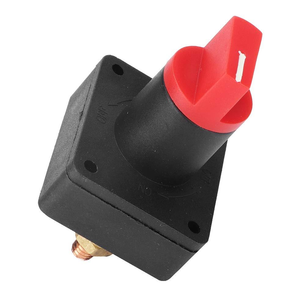 Akozon 150A 60V DC faible courant voiture voiture coup/é interrupteur batterie d/éconnecter isolateur de puissance