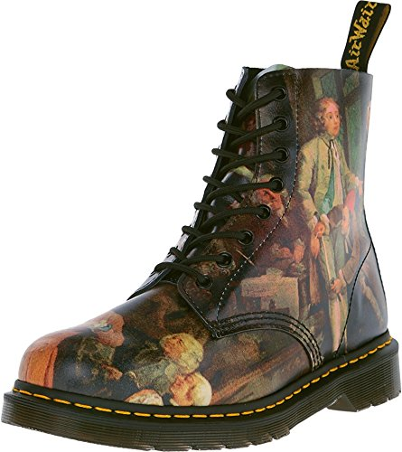 Dr. Martens Women's 1460 Renaissance 8-Eye Boot Multi 3 M UK 5 US (Adult Renaissance Boots)