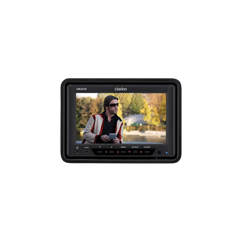 Clarion VMA570 5.6 Inch Digital TFT LCD Widescreen Monitor