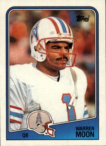 1988 Topps Football Card #103 Warren Moon (Warren Moon Football)