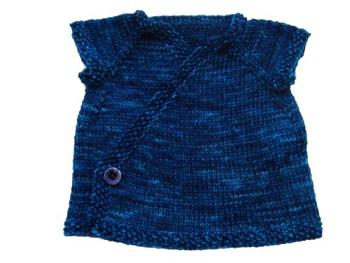 Amazon Sky Baby Kimono Knitting Pattern Ebook Jenn Wisbeck