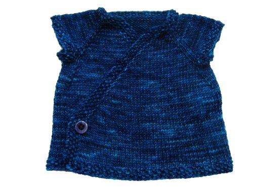 Sky Baby Kimono Knitting Pattern