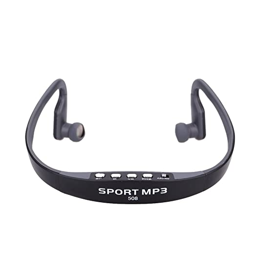 9 opinioni per Andoer® Portatile Sport Wireless TF FM Cuffia Auricolare di Musica Lettore MP3