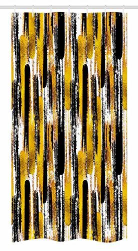 Ambesonne Modern Art Stall Shower Curtain, Watercolored Grun