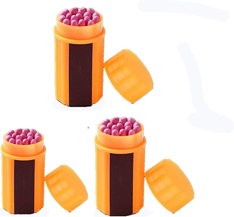 imperm/éable pour survie en plein air CMLLING Lot de 3 allumettes dext/érieur portatives extra larges kit de survie durgence camping de randonn/ée coupe-vent