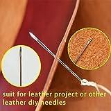 lmzay Leather Needle, Leather Triangular Needles