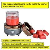 kobodon Ceramic Candle Wax Warmer, 2-in-1 Candle