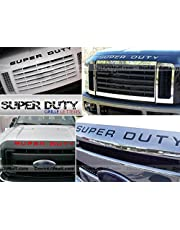 SF Sales USA - Chrome Letters for Super Duty 2008-2016 Hood/Grille Inserts Not Decals