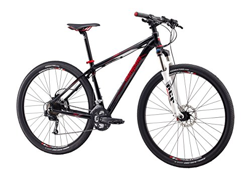 "Mongoose Men's Tyax Expert Mountain Bicycle with 29"" Wheel, Black, 16""/Small"