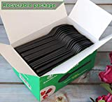 Black Compostable Cutlery
