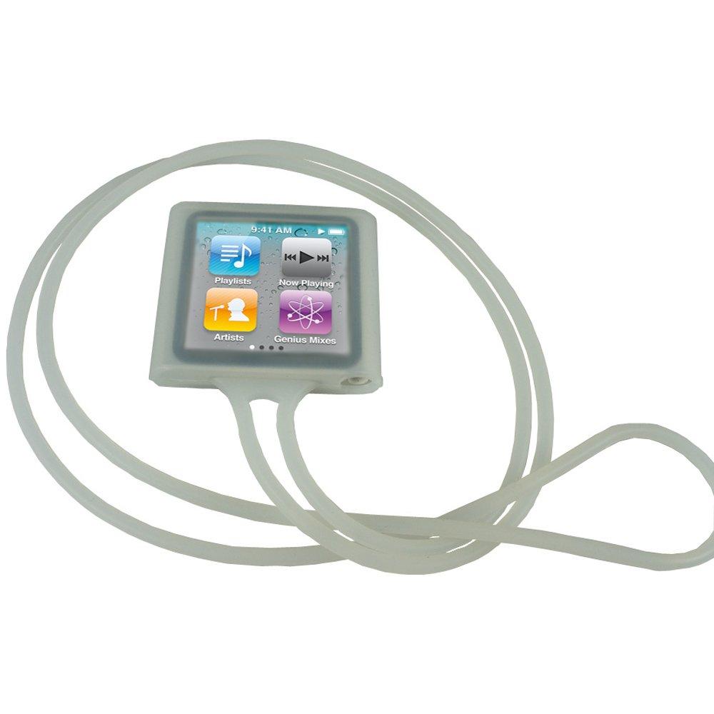 Screen Protector 16gb iGadgitz Black Silicone Skin Case Cover for Apple iPod Nano 6th Generation 8gb