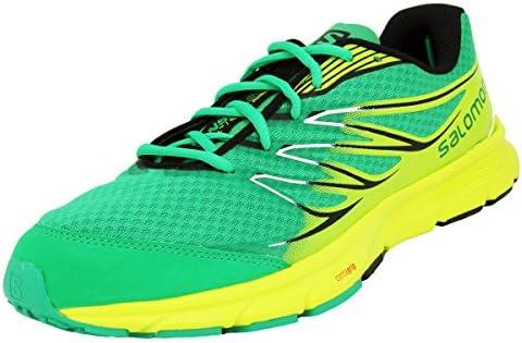Salomon SENSE LINK REAL Zapatillas Running Trail Verde Amarillo para Hombre: Amazon.es: Deportes y aire libre