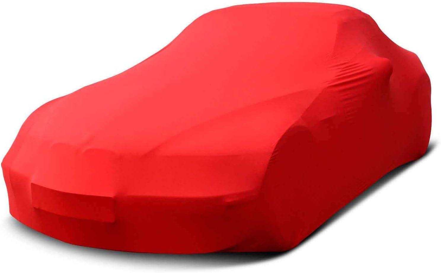 MyCarCover Autoplane passend f/ür Mazda MX-5 RF ND Premium Indoor Plane formanpassend atmungsaktiv aus Stoff in Grau