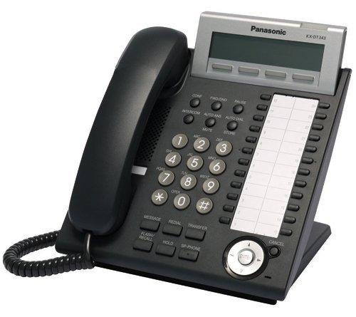 Panasonic KX-DT343 Phone Black (2pk) - Panasonic Adapter Cable Shopping Results