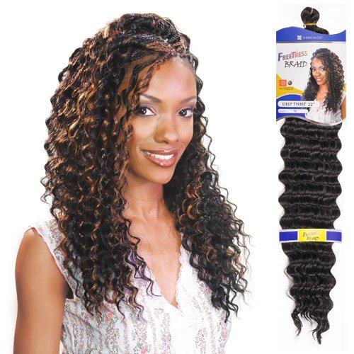 Freetress Synthetic Hair Braids Deep Twist Bulk 22 Tt33 Best