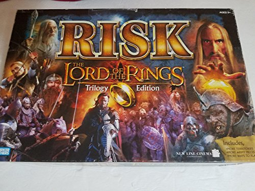 Risk: Lord of the Rings Trilogy - The Rings Monopoly Lord Of