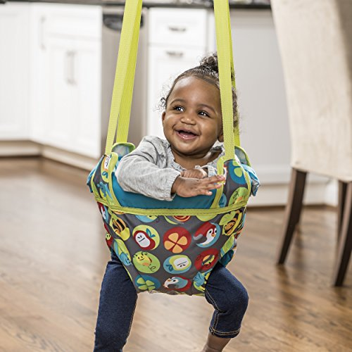 Evenflo ExerSaucer Baby Doorway Jumper, Bumbly