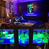 LED Black Light,Exulight 10W UV Led Tube 48 LEDs