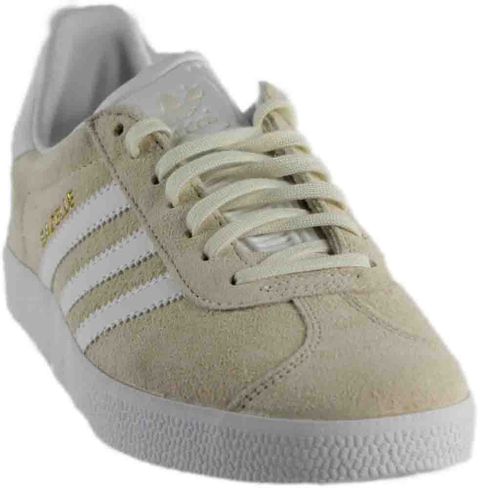adidas Men's Gazelle Casual Sneakers B01HQPDQDY 11 D(M) US|Off White/White