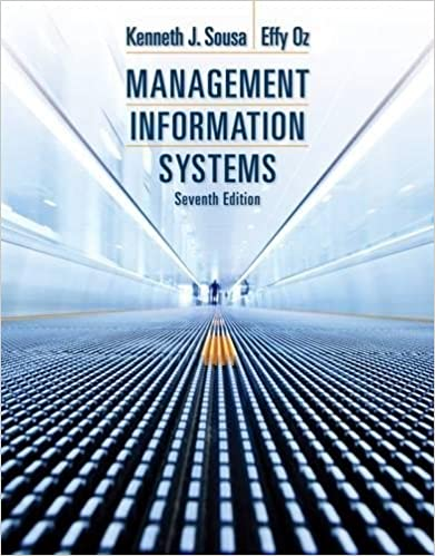 management information systems 7th edition sousa pdf
