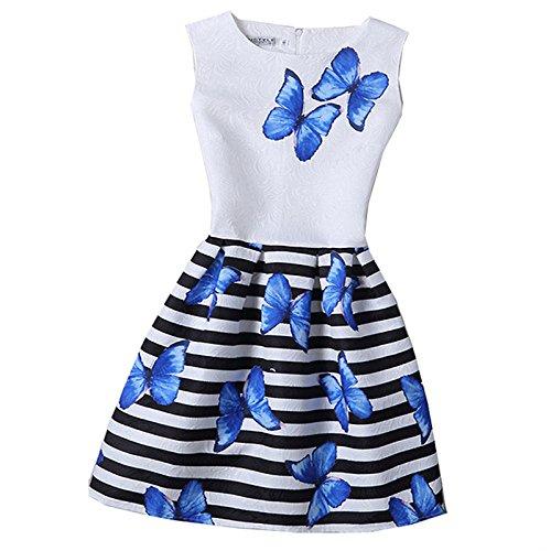 Zebra Print Party Dress - 4