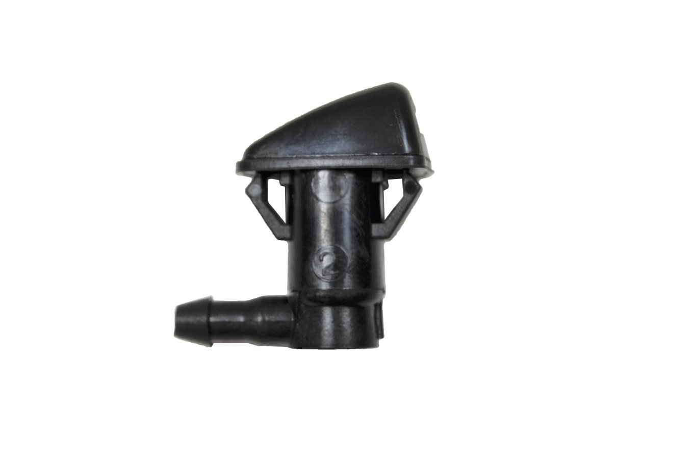 Black Front Left//Right PT Auto Warehouse WNZ-CH712-F Windshield Washer Nozzle Set of 2