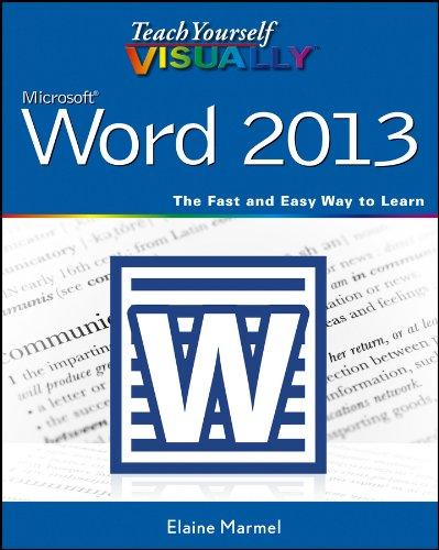 Teach Yourself VISUALLY Word 2013 (Visually Word)