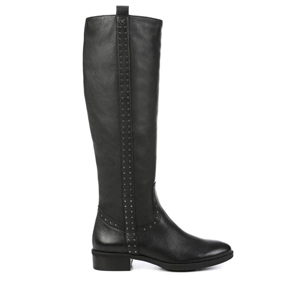 Black Neymar Leather Sam Edelman Womens Prina Knee High Boot