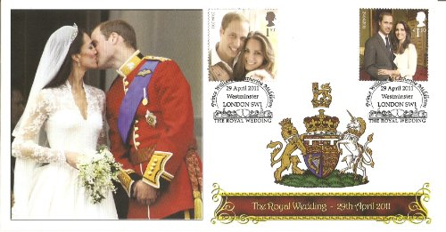 Royal Wedding Commemorative Kiss Cover -