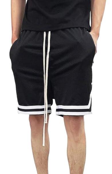 Amazon.com: Alion pantalones cortos de baloncesto Tela de ...