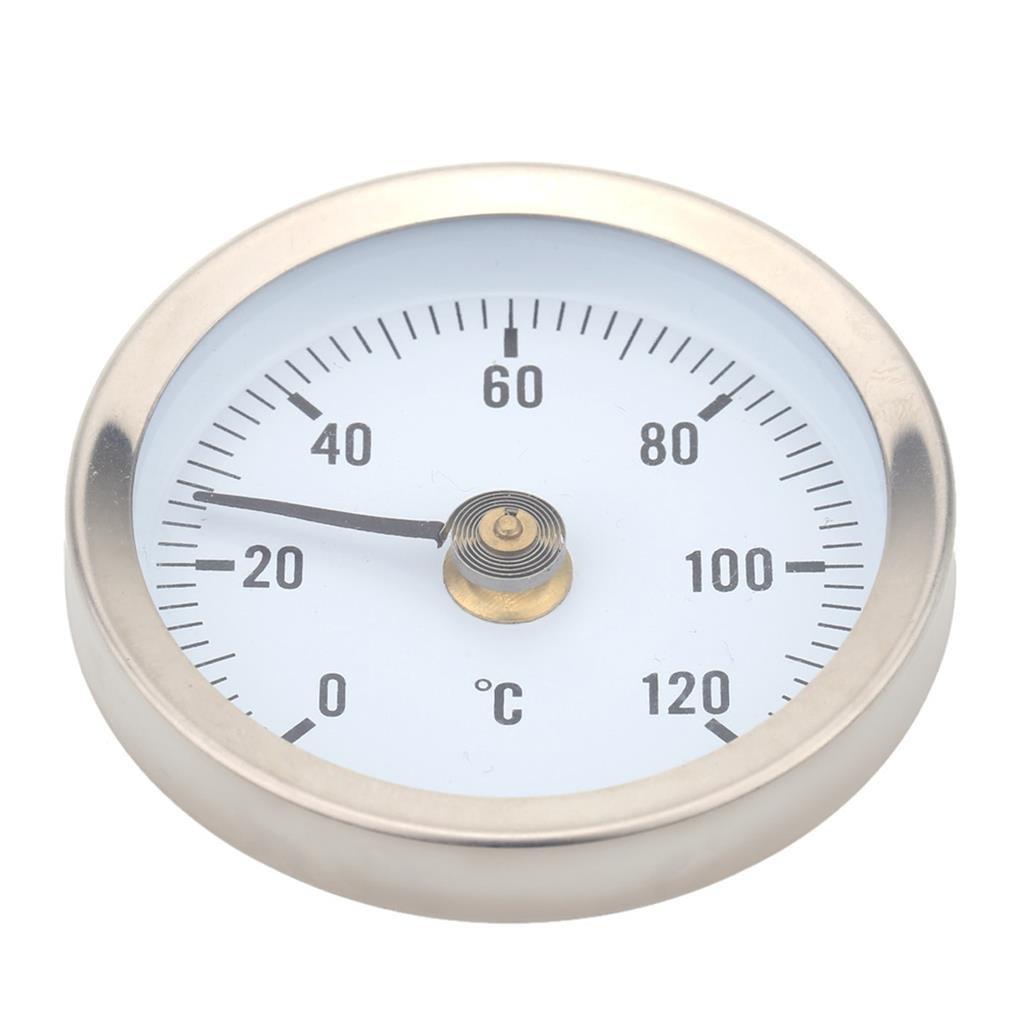Ts W50a 0 120 Grados Bimetá lico de Acero Inoxidable Termó metro de Superficie Generic STK0151001385