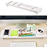 Hofumix Keyboard Storage Rack Keyboard Stand Shelf Desktop Organizer Rack Small Objects Storage Keyboard Commodity Shelf Office Supply Holder