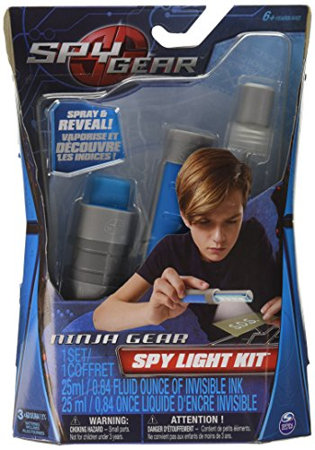 Spy Gear Spy Gear UV Gear Kit (Kids Spy Gear Toys)